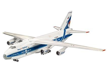 amazon com antonov an 124 cargo transport ruslan 1 144 revell