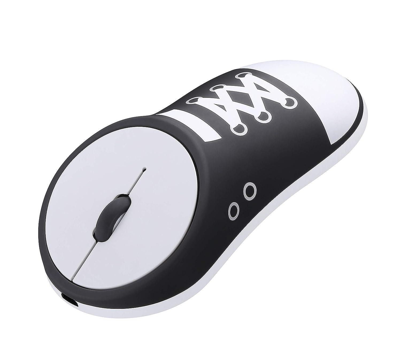 LAOPAO Ratón Bluetooth inalámbrico 4.0 de 2,4 GHz Recargable, 4 ...