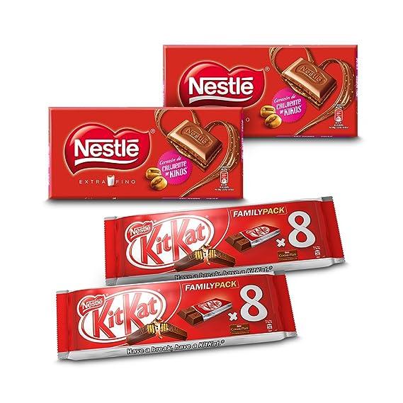Pack de 2 KitKat Galleta Recubierta (8 unidades x 20.75 g) + Pack de