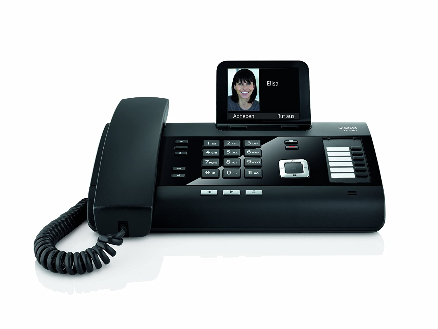 designer home phones. gigaset dl500a - cordless phone answering system with caller id/call waiting: amazon.co.uk: electronics designer home phones r