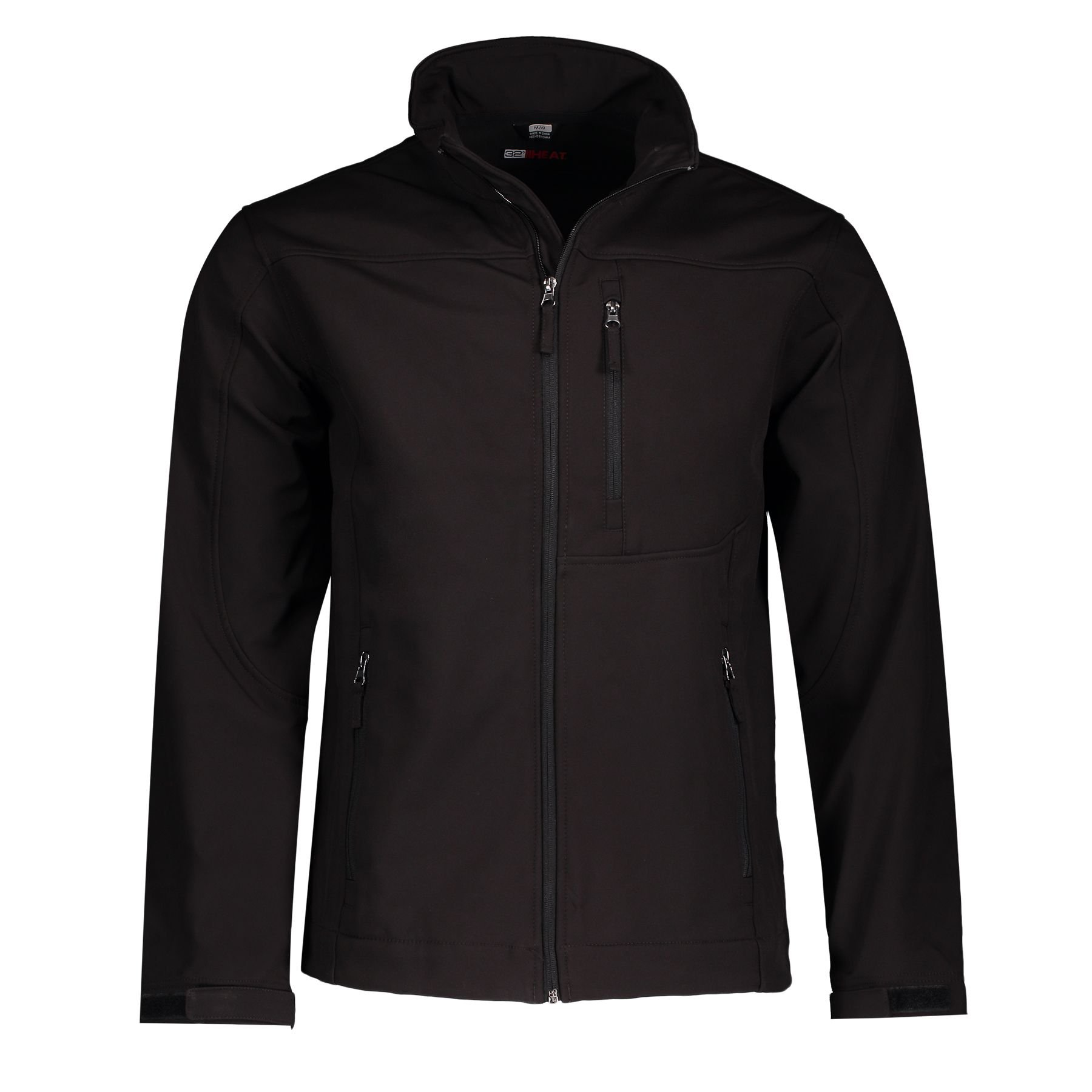 32 DEGREES Men's Softshell Jacket, Black, Small by 32 DEGREES