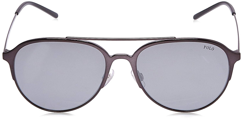 Polo 0PH3115 Gafas de sol, Aviador, 58, Dark Gunmetal: Amazon.es ...