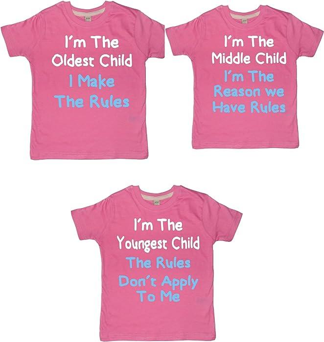 216e9f47cf Amazon.com  Edward Sinclair Sister Set I m The Oldest Child