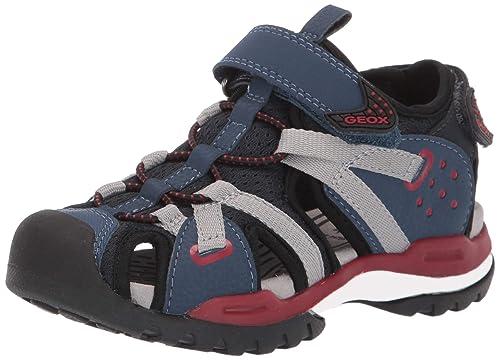 neue hohe Qualität verschiedenes Design großer rabatt von 2019 Geox Jungen J Borealis Boy B Geschlossene Sandalen