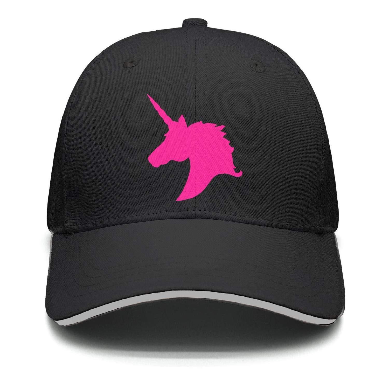 b2bb8070eaef5 Amazon.com  Unisex Hat + Baseball Cap + Dad Hat + Baseball Hat - Kids Pink  Unicorn Polo Horse  Clothing