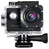 Action Camera, [Upgraded Version]Pictek Underwater Camera, Sports Camera, Waterproof WIFI 2.0 Inch HD 1080P Sports Cameras with 170 Degree Wide Angle Lens,Multiple Accessories Kit,for Outdoor Sports Bicycle Motorcycle Diving Swimming Skiing Sliver