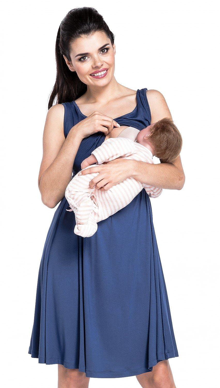 Zeta Ville Fashion DRESS レディース B0719BT3QC 6/8 ブルーグレー ブルーグレー 43624