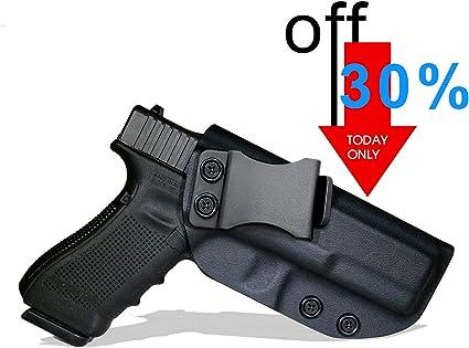 Se adapta a Glock calibre 45 dentro de la cintura KYDEX Revista Bolsa Glock 20 21