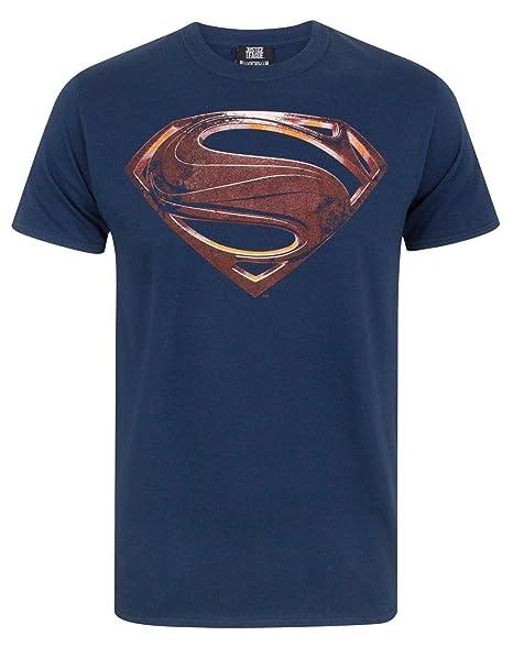 47840457967a8 Amazon.com  Justice League Superman Logo Men s T-Shirt  Clothing