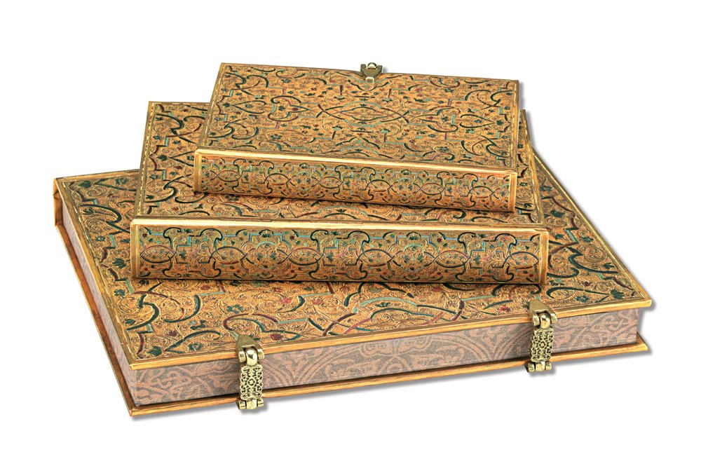 Paperblanks 10 Year Journal, Gold Inlay: 9781439714263 ...