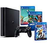 PS4 1TB Playstation MEGA PACK FAMILIAR de 5 Juegos: Ratchet & Clank, Uncharted Collection (3 en 1) y No Man's Sky