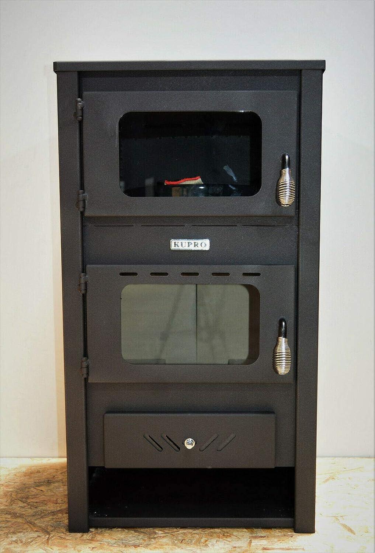 Estufa de leña con quemador de leña para horno, 14 kw