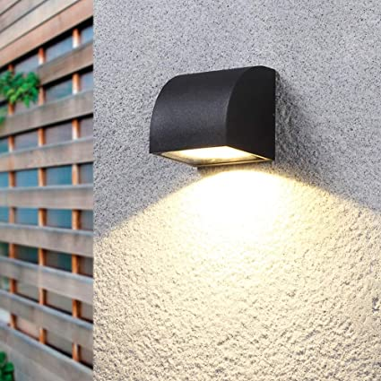 LDDENDP Outdoor Wall Lamp Nordic Modern Courtyard Garden