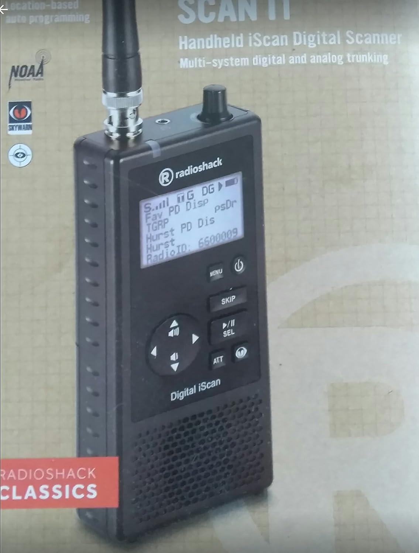 AC Power Adapter for RadioShack PRO-668 Handheld iScan Digital Trunking Scanner