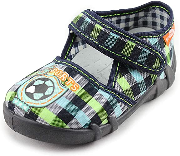 made in Poland Slippers RenBut Boys Canvas Shoes