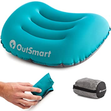 Almohada inflable de camping: las ultraligeras almohadas para ...