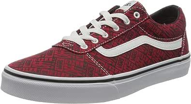 Vans Ward Canvas Sneaker, Unisex niños