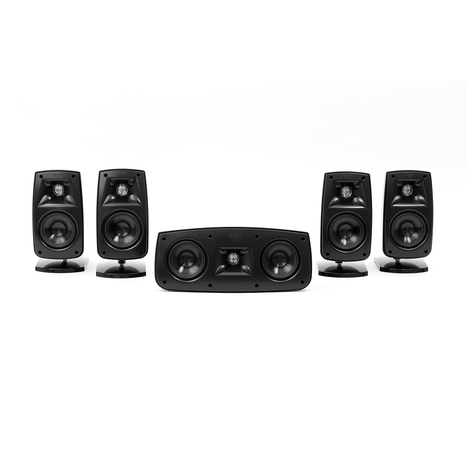 Klipsch Quintet IV Home Theater Speaker System (1010440)(Black High Gloss)