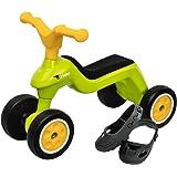 BIG 800055301 - Rider mit Shoe-Care Kinderfahrzeug, grün