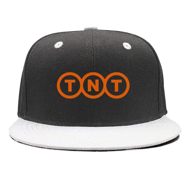 Flat Bill Trucker Hats for Men Women Baseball Caps Cool Hat SDHAK TNT-Express-Logo-Symbol