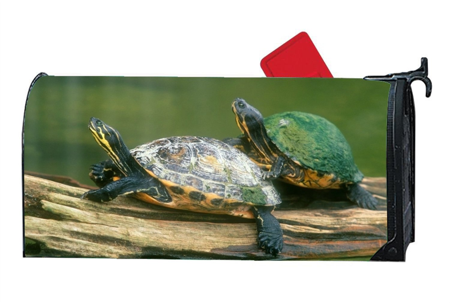 KSLIDS Unique Mailbox Makeover Turtles Mailbox Covers Garden,Outdoor,Yard Magnetic