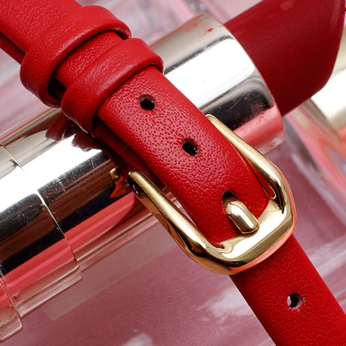 Femme véritable Bracelet Bracelet en Cuir 6mm 8mm 10mm Bracelet Slim Bracelet Blue Rose Gold