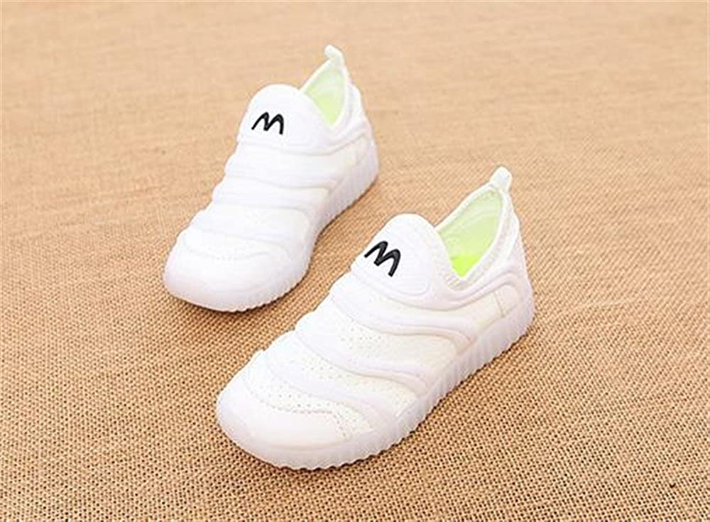 YUBUKE Kids Casual Lightweight Breathable Sneakers Easy Walk Sport Shoes