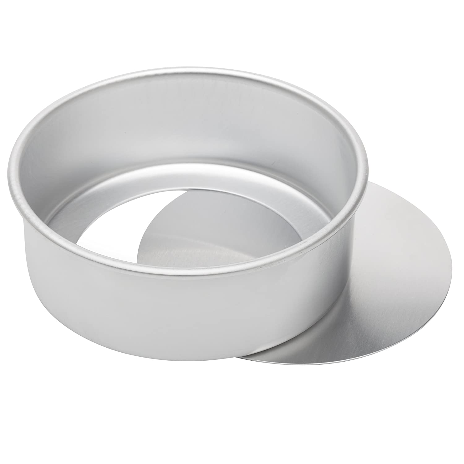 Ateco Aluminum Cake Pan with Removable Bottom, Round, 6- by 3-Inch 12063