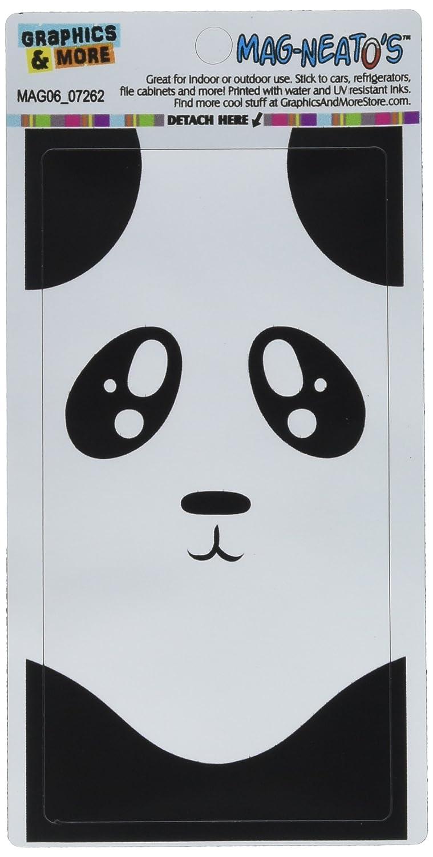 amazon co jp panda bear cute full face black and white mag