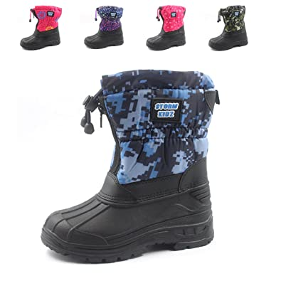 dcd18cc8e Storm Kidz Unisex Cold Weather Snow Boot (Toddler/Little Kid/Big Kid) Many  Colors