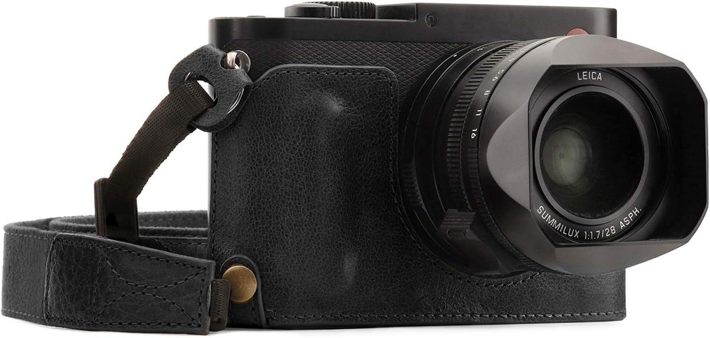 MegaGear Para Leica Q-P, Q (Typ 116) Estuche Ever Ready, Media ...