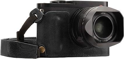 Megagear Mg1400 Leica Q P Q Ever Ready Echtleder Kamera