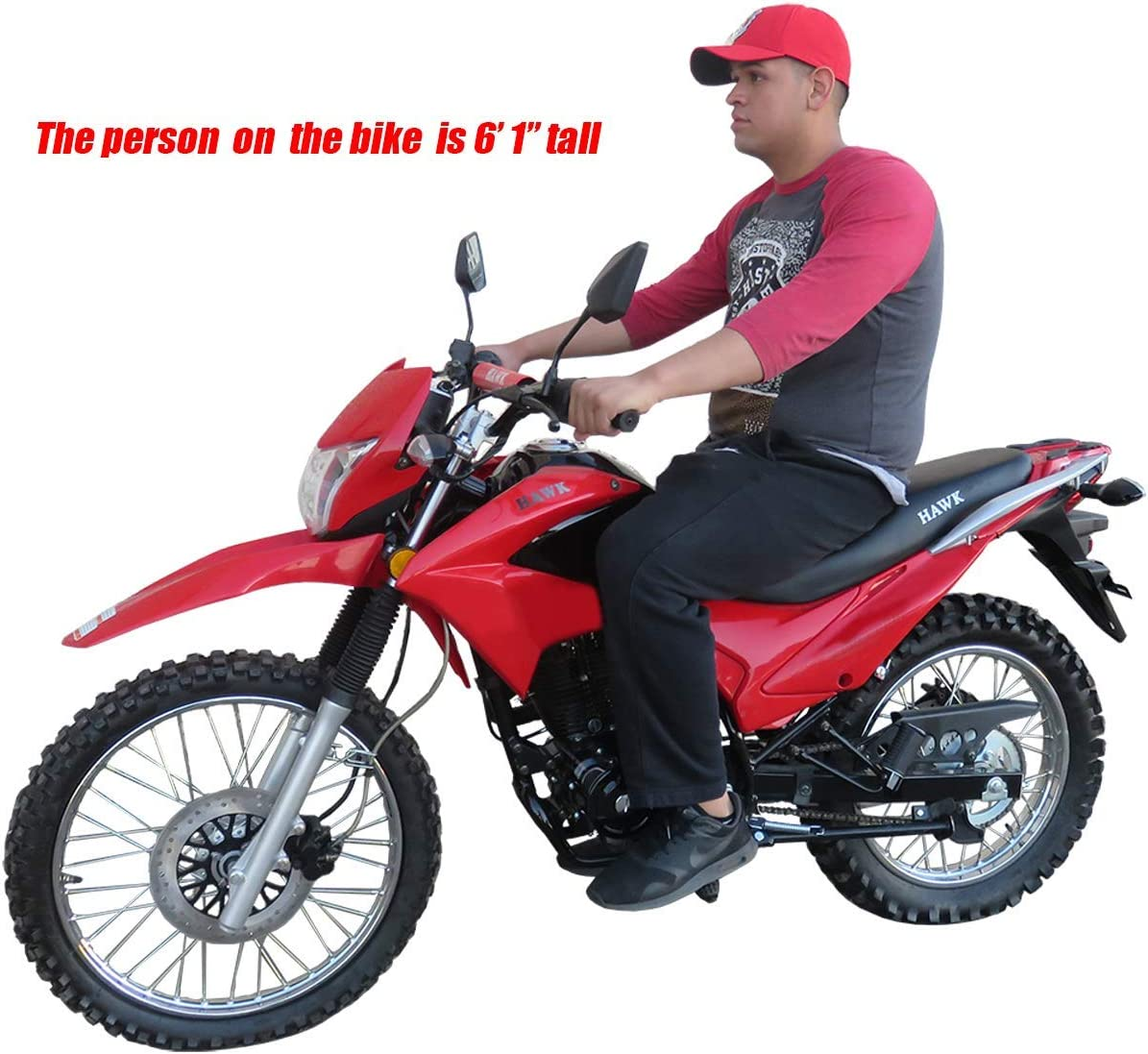 Amazon.com: Motocicleta Pro trae Hawk 250 250 cc Dirt Bike ...
