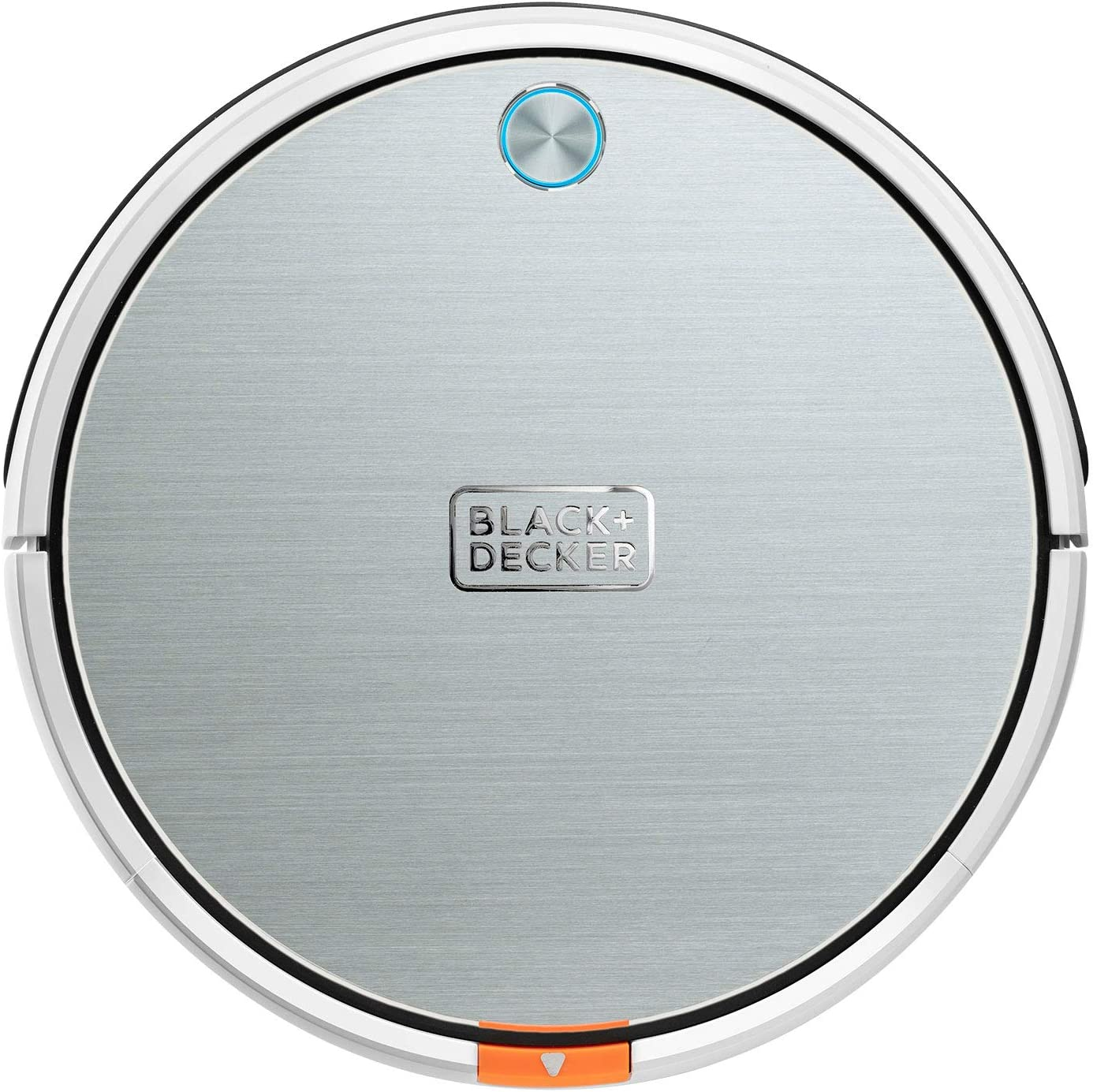 Barre Aspira Sistema de filtrado Doble Navegaci/ón Inteligente Pasa la mopa y friega Robot Aspirador 4 en 1 Black+Decker BXRV500E Mando a Distancia. Programable 4 Modos de Limpieza