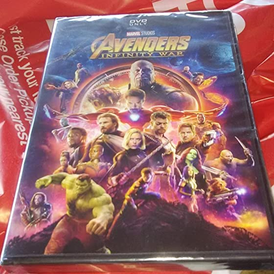 Avengers: Infinity War (Plus Bonus Content) Avengers Infinity War is a must have!