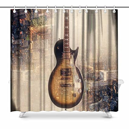 interestprint Juego de guitarra eléctrica sobre fondo moderno de ...