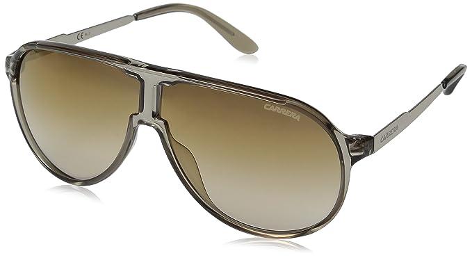 dd0e1e65ed1b Carrera New Champion/s Aviator Sunglasses, Dove Gold/Brown Silver Gold, 62