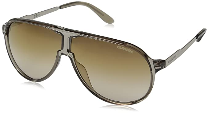 ce3b0aacaa Carrera New Champion/s Aviator Sunglasses, Dove Gold/Brown Silver Gold, 62