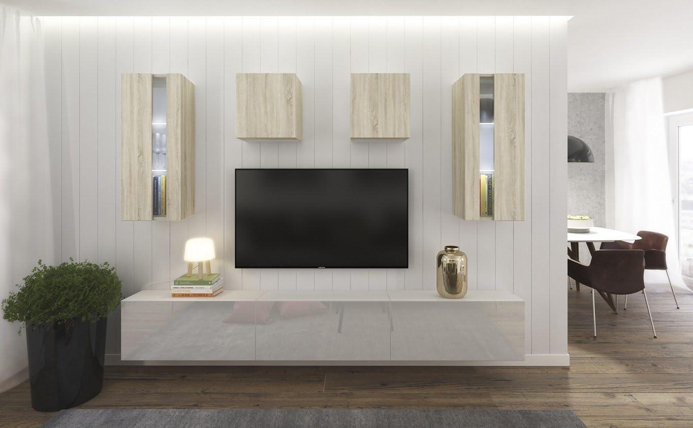 Home Direct Smile N15, Modernes Wohnzimmer, Wohnwände