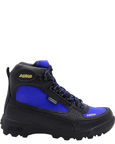 1e2450a59ba Asolo Mens Skyriser/Sunrise/Supremacy/Welt High Hiker  Boot,Black/Royal/Skyriser Boot,9.5