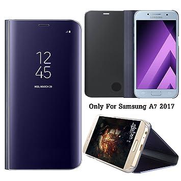 Guran® Mirror Efecto Espejo Funda para Samsung Galaxy A7 (2017 ...