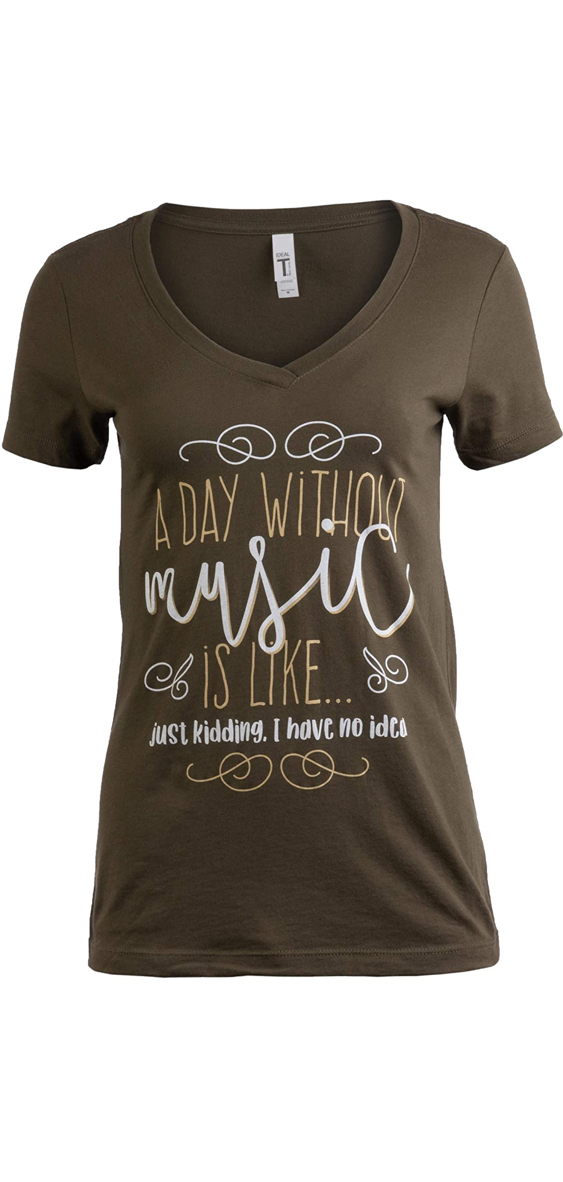 A Day Without Music Is Like I Have No Idea  Cute Teen Girl