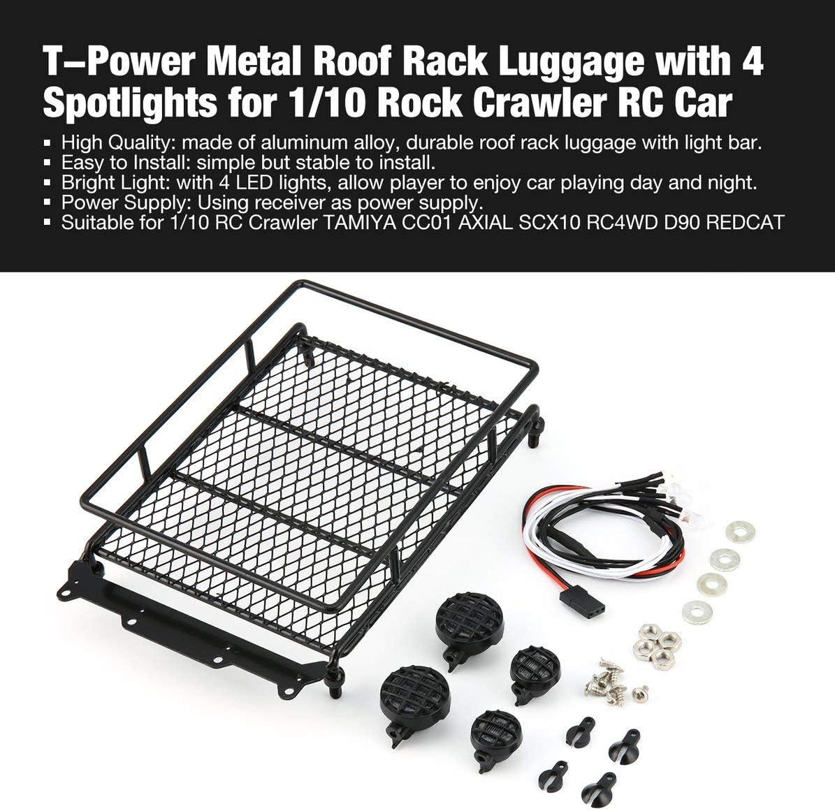 LAFEINA Aluminium Alloy Foldable Winch Anchor for 1//10 RC Rock Crawler Road Truck D90 SCX10 Tamiya