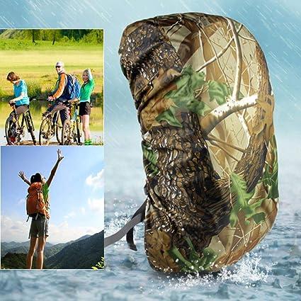 Waterproof Camo Rain Cover Travel Hiking Backpack Outdoor Camping Rucksack Bag
