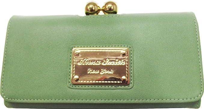 d26ecdfec9c Ladies Girls LYDC Designer Plain Brockley Bi-fold Faux Leather Purse ...