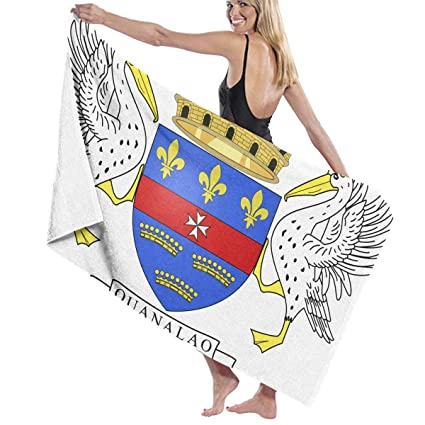Amazon.com: Flag of Saint Barth¨¦lemy Bath Towel Bathroom ...