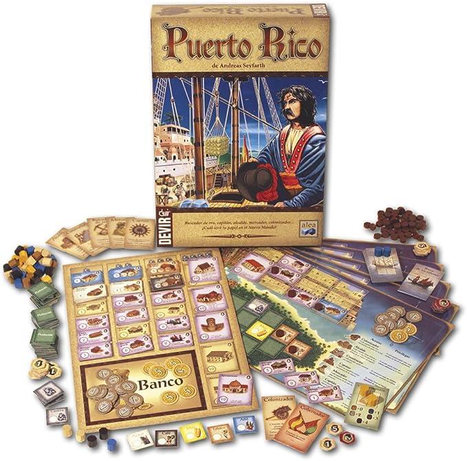 Devir- Puerto Rico, Juego de Mesa (BGPUERTO): Amazon.es: Juguetes y juegos