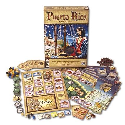 Amazon.com: Devir - Puerto Rico, Juego de Mesa (bgpuerto ...