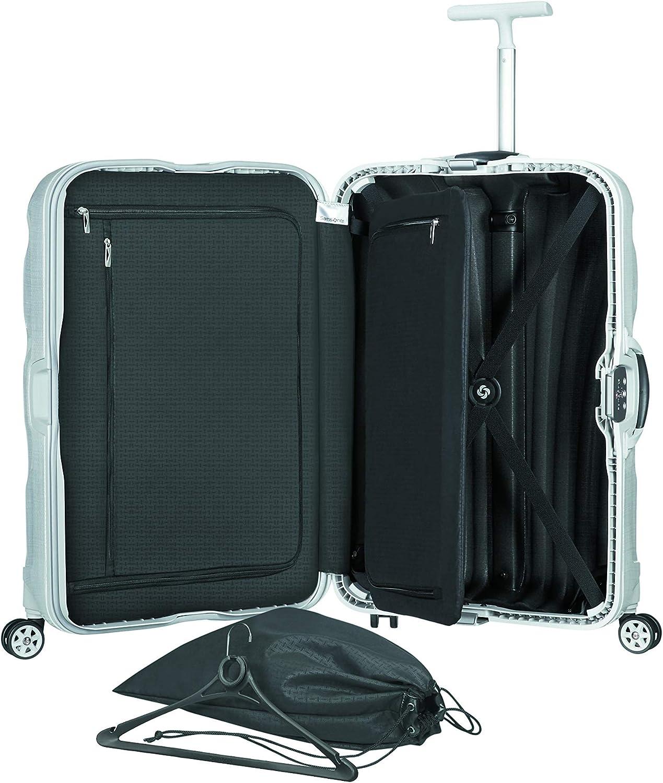 Samsonite Lite Locked Spinner 75 28 75 Cm 93 L Off White Luggage