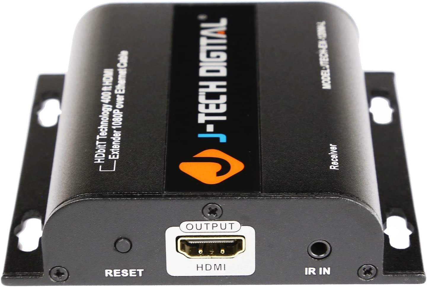 J-Tech Digital HDbitT HDMI Extender ONE to Many Ultra HD 4K Over TCP//IP Ethernet//Over Single Cat5e//cat6 Cable Ultra HD 4K HDMI1.4 with IR Remote Up to 400 Ft